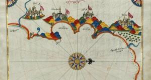 Navigando fra Calabria e Puglia con le fiabesche mappe dell'ammiraglio turco Piri Reʾīs