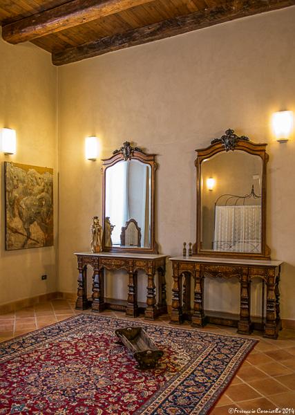 Castello di Corigliano: camera da letto della Baronessa