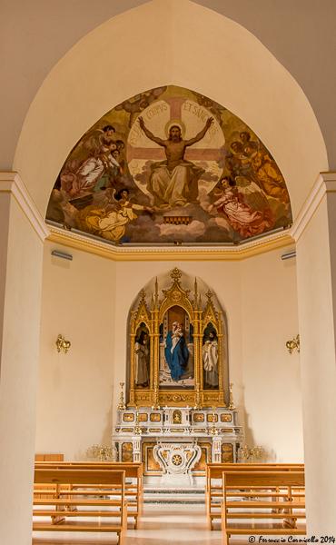 Castello di Corigliano: Cappella di S. Agostino