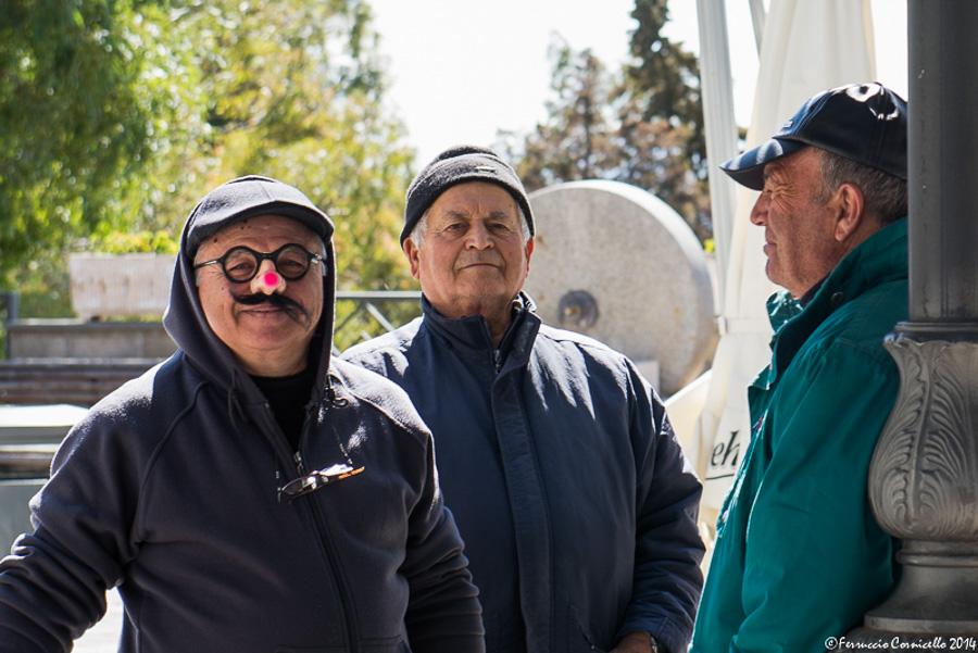 Gente di Aliano e preparativi del Carnevale