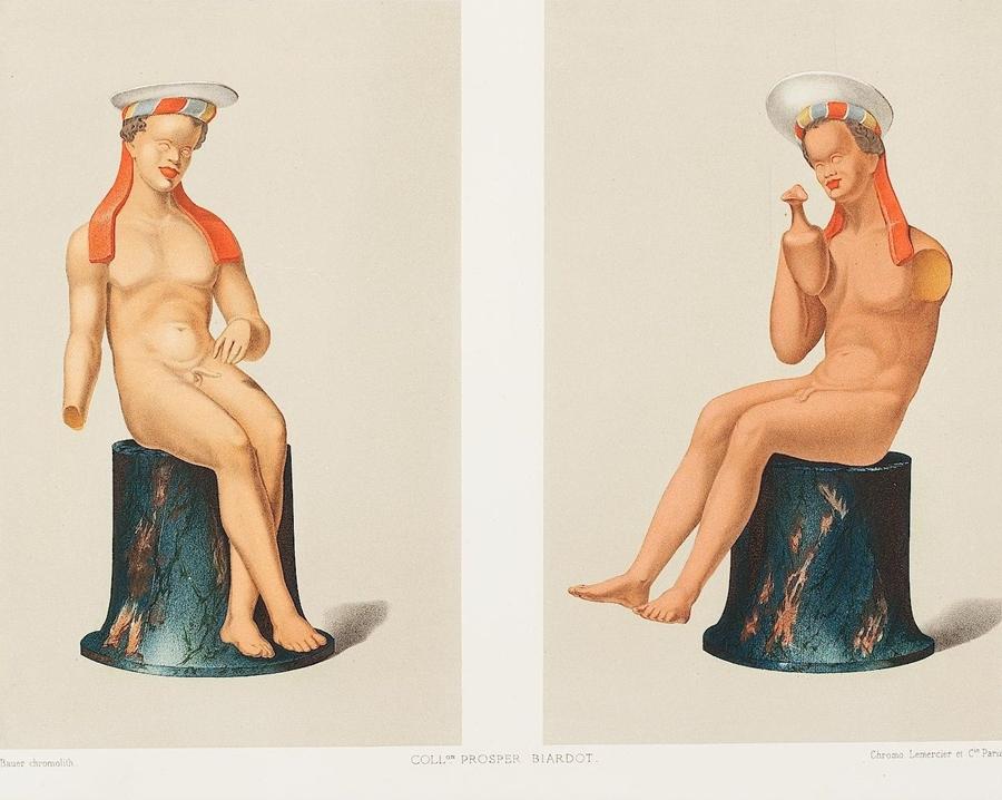 Gli acquerelli di Prosper Biardot