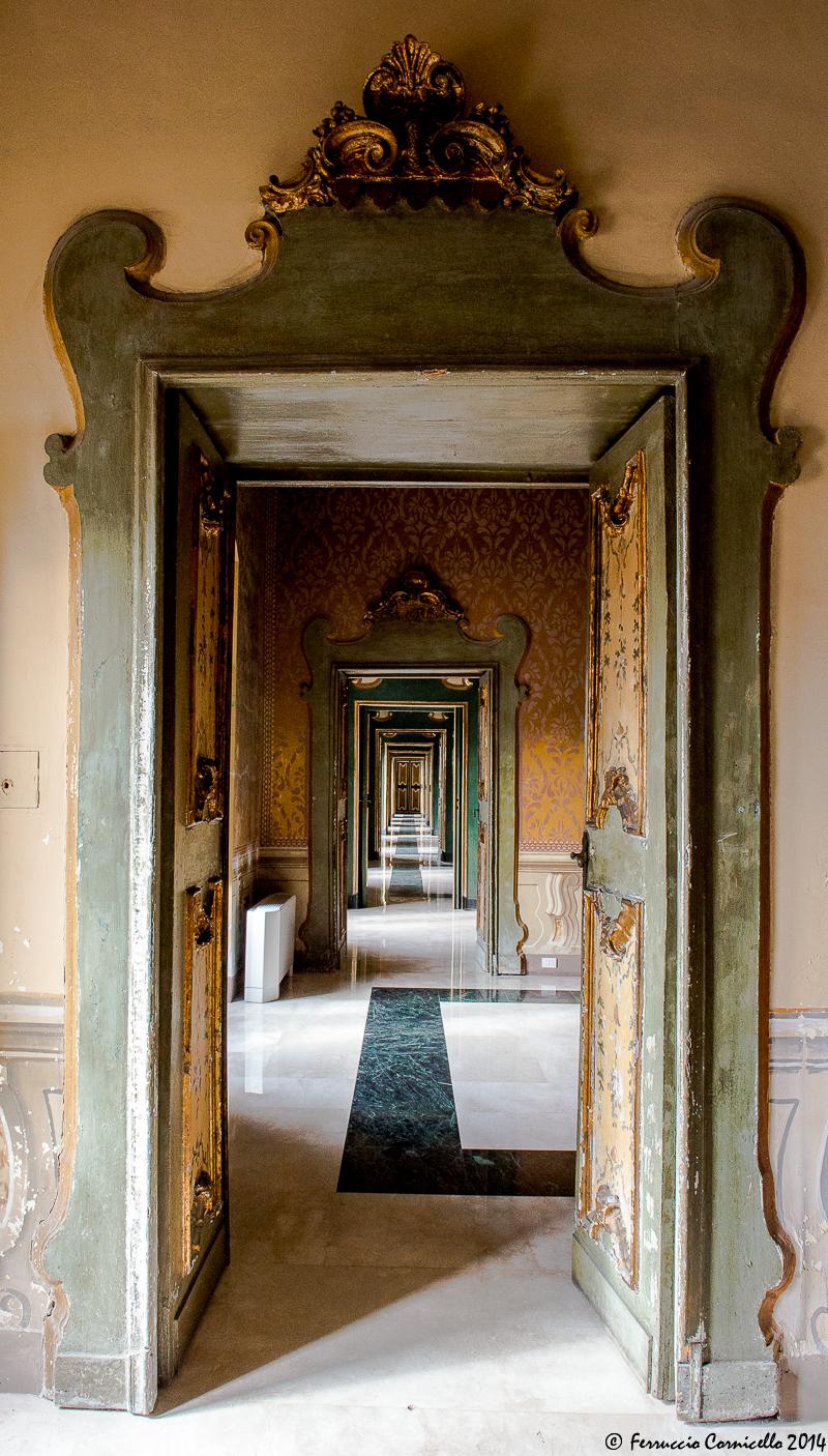 Gli affreschi di palazzo ducale a Martina Franca
