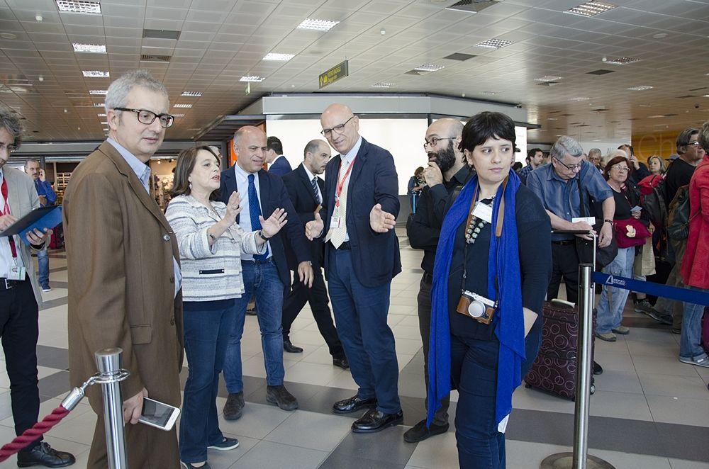 """Il Museo Archeologico Regionale """"Salinas"""" sbarca all'Aeroporto Internazionale di Palermo"""