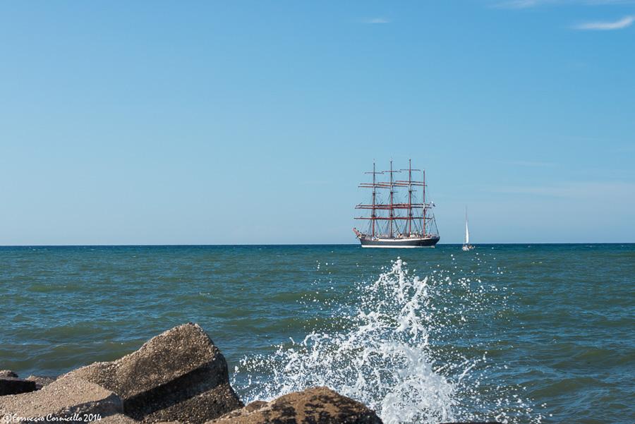 Il veliero Sedov a Bari