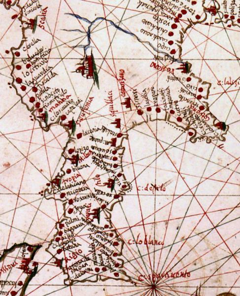 La cartografia di Vigliarolo
