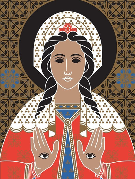 Le sante icone di Photoshop. A Bari ritorna il design bizantino