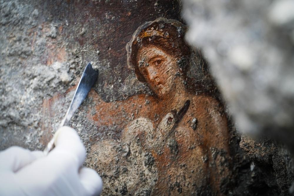 Leda e cigno a Pompei