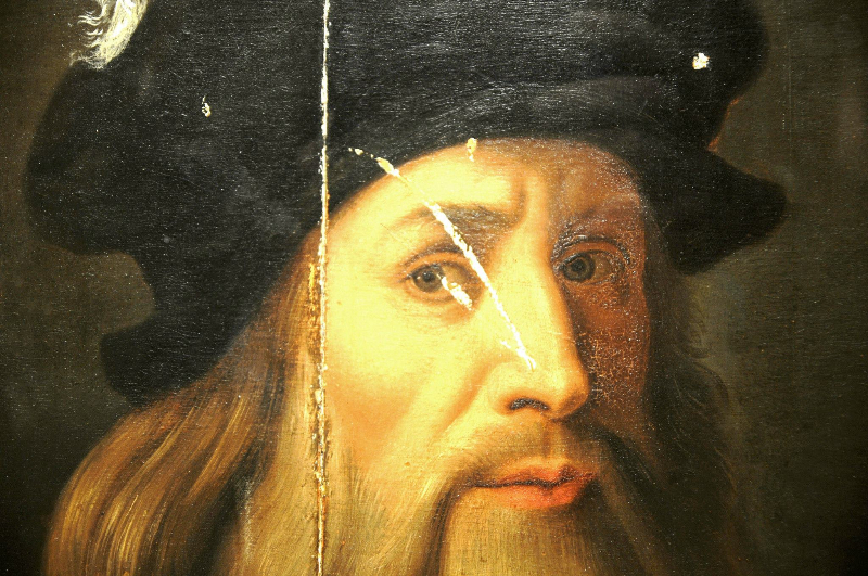 Leonaerdo da Vinci e il presunto autoritratto di Acerenza