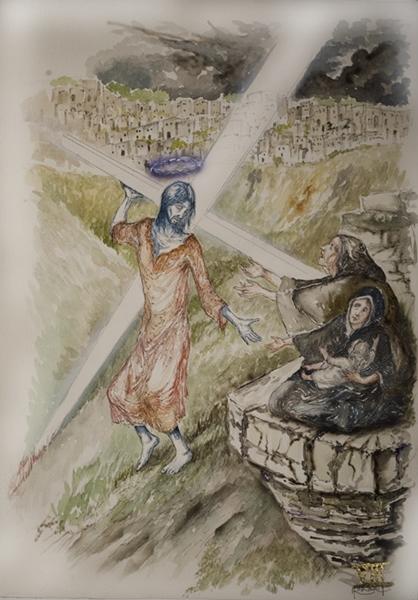 Matera per L'Aquila, mostra