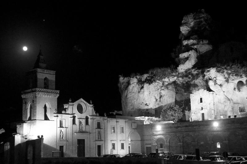 Matera: un sogno in bianco e nero, immagini di Alex Scarcella