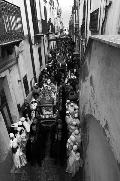 Processione e rimozione ori, Ferrandina