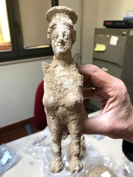 Scoperta archeologica a Ceglie