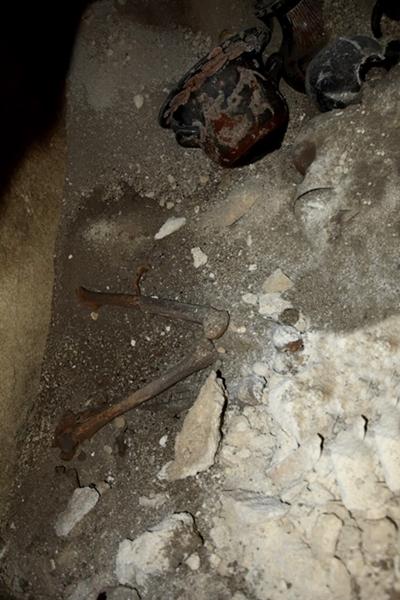 Tomba scoperta a Matera