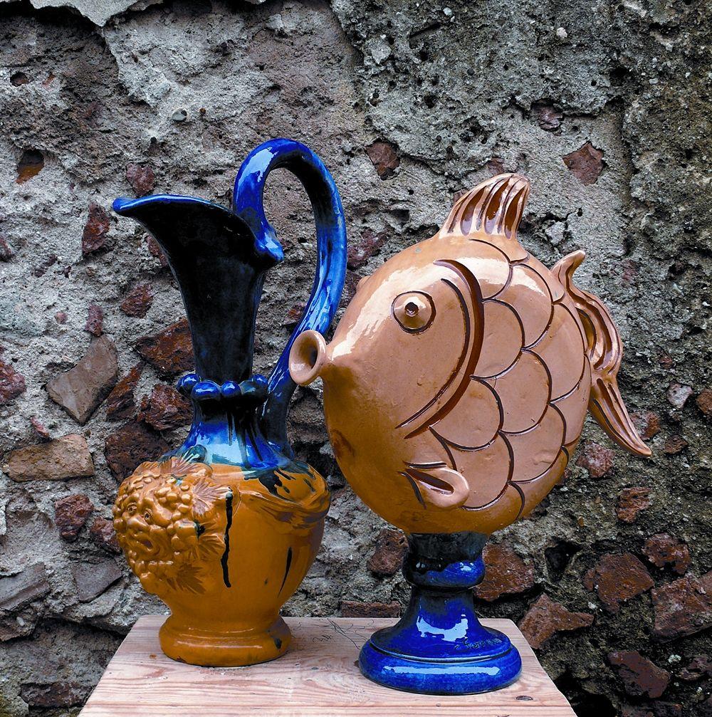 Vicenzo Ferraro, ceramiche di Seminara