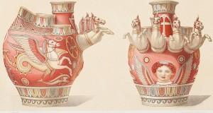 Il mistero dei vasi funerari di Canosa e gli straordinari acquerelli ottocenteschi di Prosper Biardot