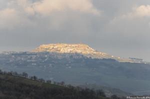 Visione panoramica di Acerenza - Ph. © Ferruccio Cornicello