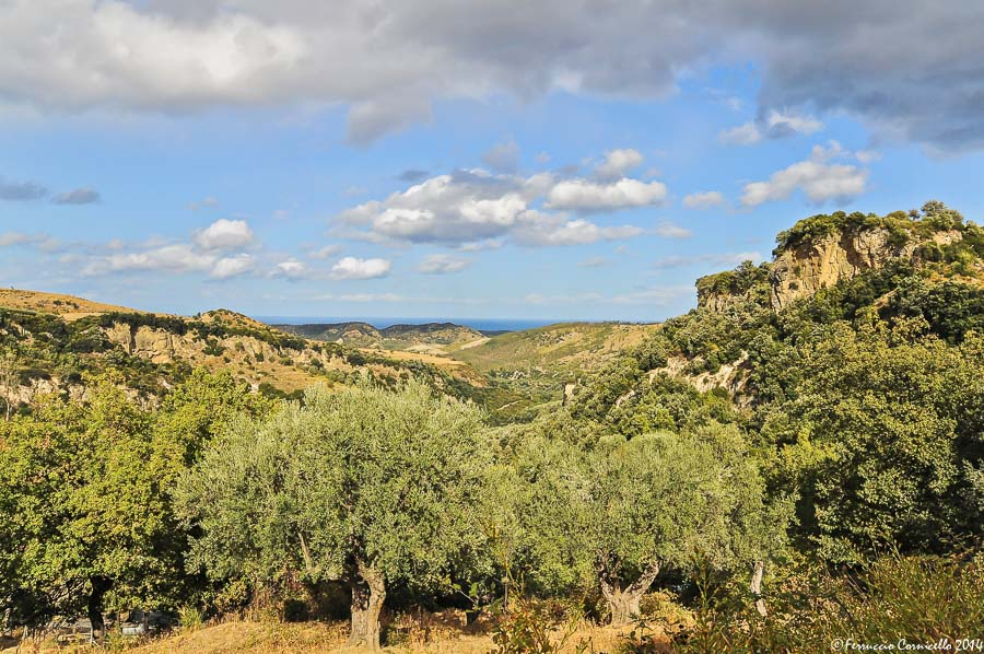 Calabria - Lo splendore mediterraneo del contesto naturale in cui sorge il sito archeologico di Castiglione di Paludi (Cosenza)