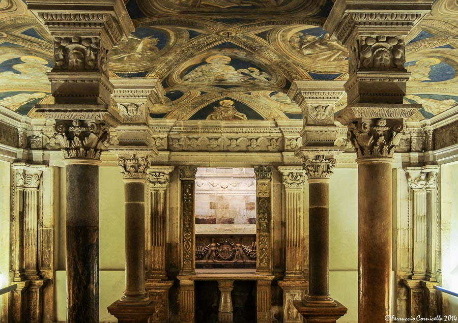Basilicata - Cripta rinascimentale della cattedrale di Acerenza (Matera), XVI sec. – Ph. © Ferruccio Cornicello