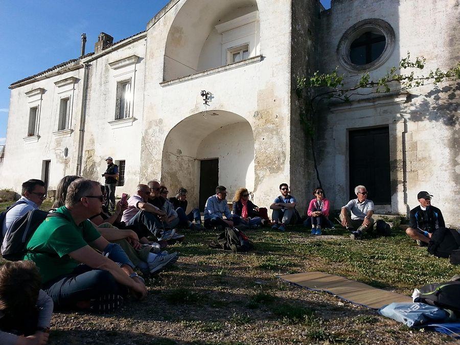 Basilicata - Un gruppo di partecipanti agli appuntamenti di NaturArte - Ph. Angela Capurso
