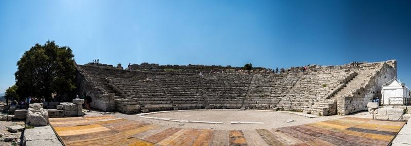 Scorcio del Teatro di Segesta - Ph. Fernando Garcìa | ccby2.0