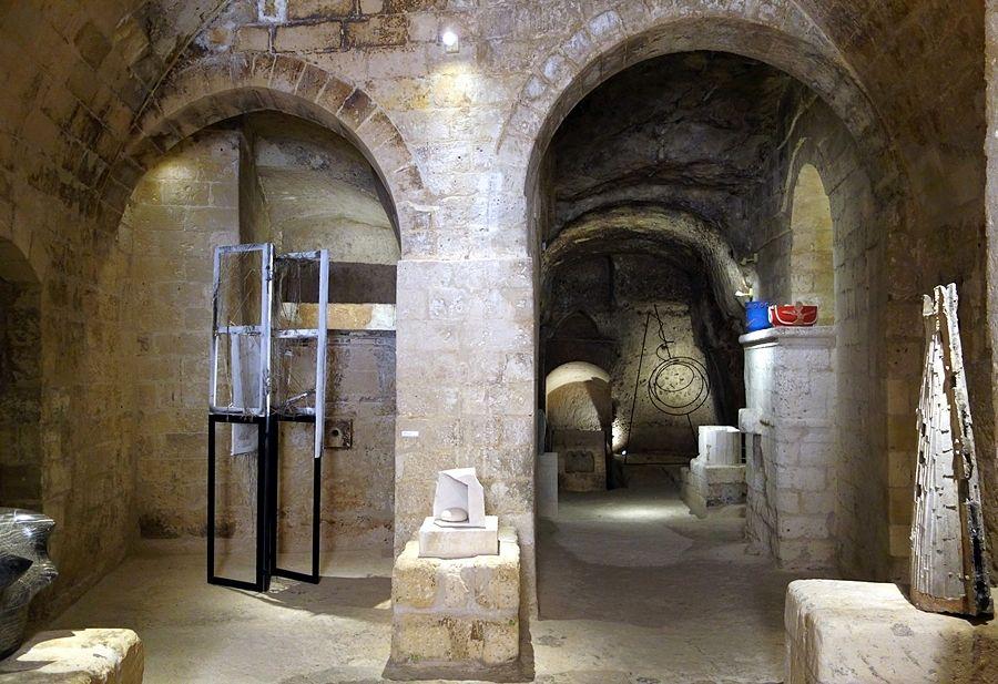 Una delle sale del MUSMA, Matera