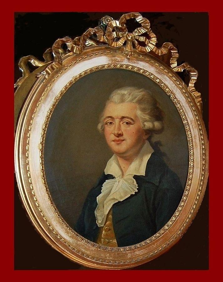 Ritratto d'epoca di Francesco Procopio dei Coltelli, Parigi - Ph. Françoise Gragnier - FdS: courtesy dell'Autore