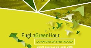 Puglia Green Hour. La Puglia riscopre le sue aree protette fra teatro, trekking, seminari e laboratori