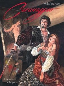 La copertina del recente lavoro su Caravaggio