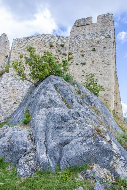 Scorcio del Castello di Castropignano - Ph. Fiore Silvestro Barbato | CCBY-SA2.0
