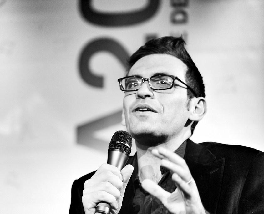 Lo scrittore Nicola Lagioia - Ph. Alessio Jacona