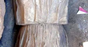 Riemerso a Castro anche il braccio della monumentale Atena citata da Virgilio nell'Eneide