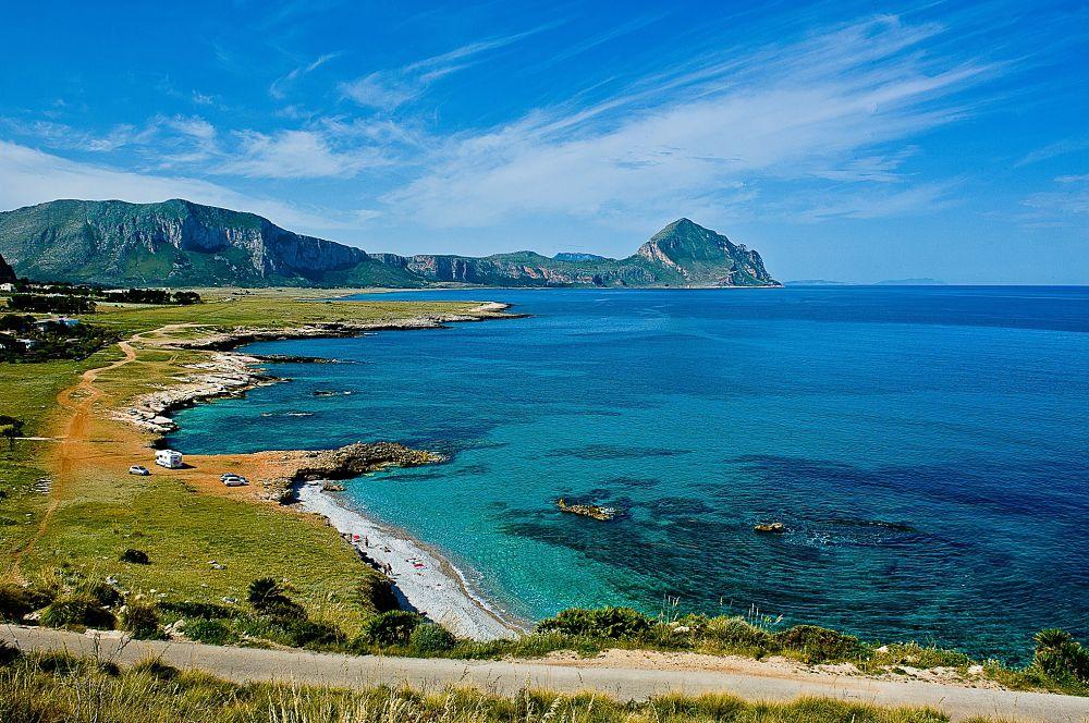 Sicilia - La spiaggia di Bue Marino, San Vito Lo Capo (Trapani) - Ph. Salvatore Ciambra | CCBY-SA2.0