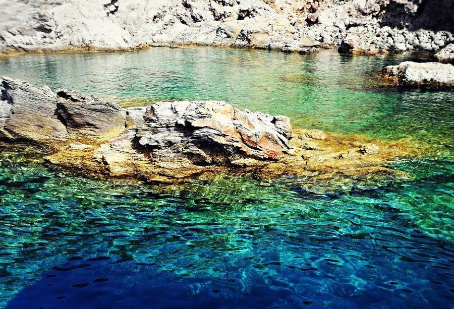 Sicilia - Piscina di Venere, Vulcano, Isole Eolie (Messina)
