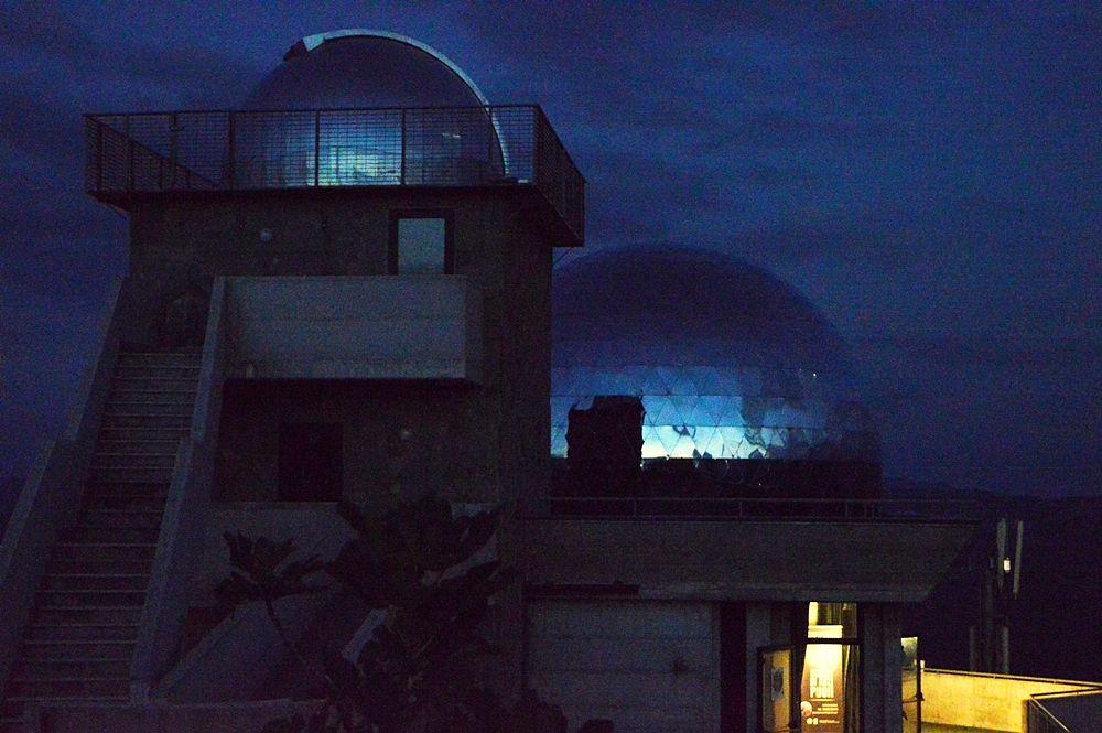 Scorcio notturno del Planetario di Anzi (Pz) - Ph. © Angela Capurso
