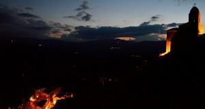 Sipario sulla notte ad Anzi, nel cuore della Basilicata