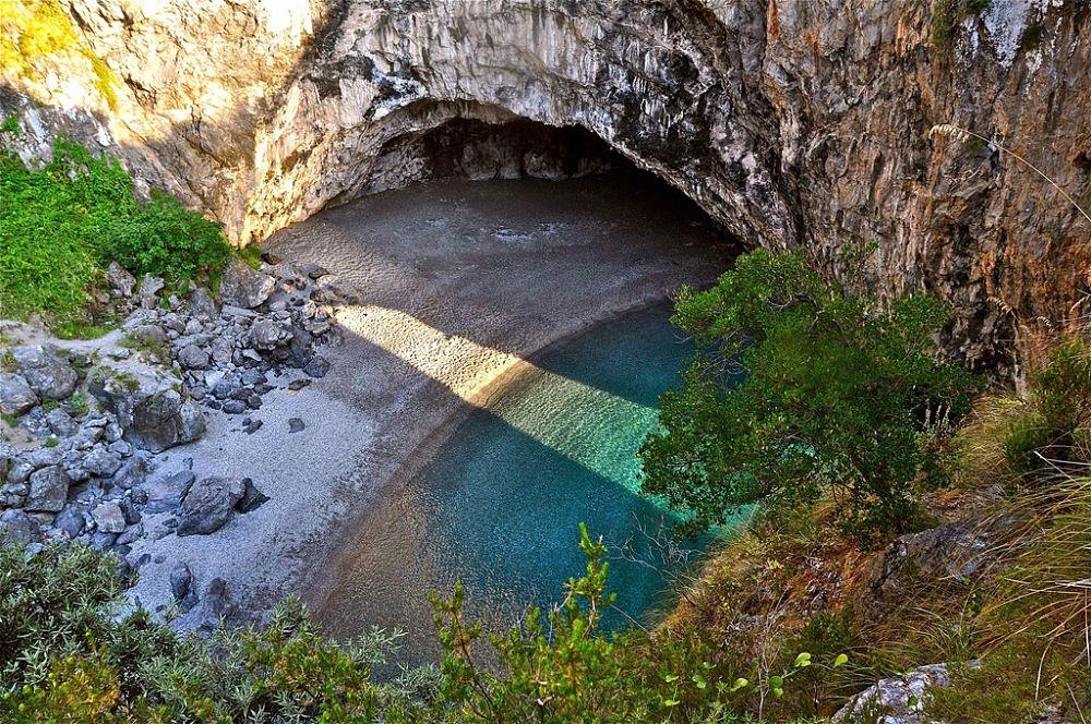 Calabria - Veduta della spiaggia dell'Arco Magno, S. Nicola Arcella (Cosenza) - Ph. © Stefano Contin