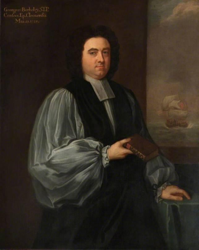 Ritratto del filosofo-vescovo George Berkeley, XVIII sec.
