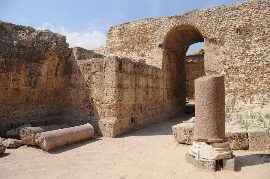 Tunisia - Area archeologica di Cartagine: scorcio delle terme - Ph. Silvia Rivela   CCBY-SA2.0