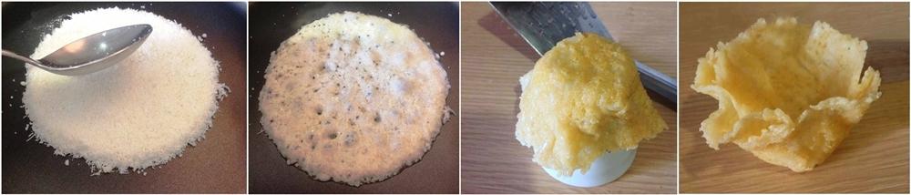 Dal formaggio grattuggiato al cestino... - Ph. Anna Laura Mattesini