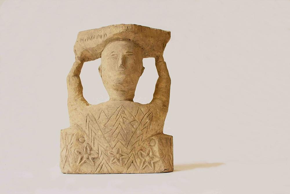Uno dei falsi reperti archeologici conservati al Museo Archeologico Regionale Antonio Salinas di Palermo - Ph. Marcello Costa