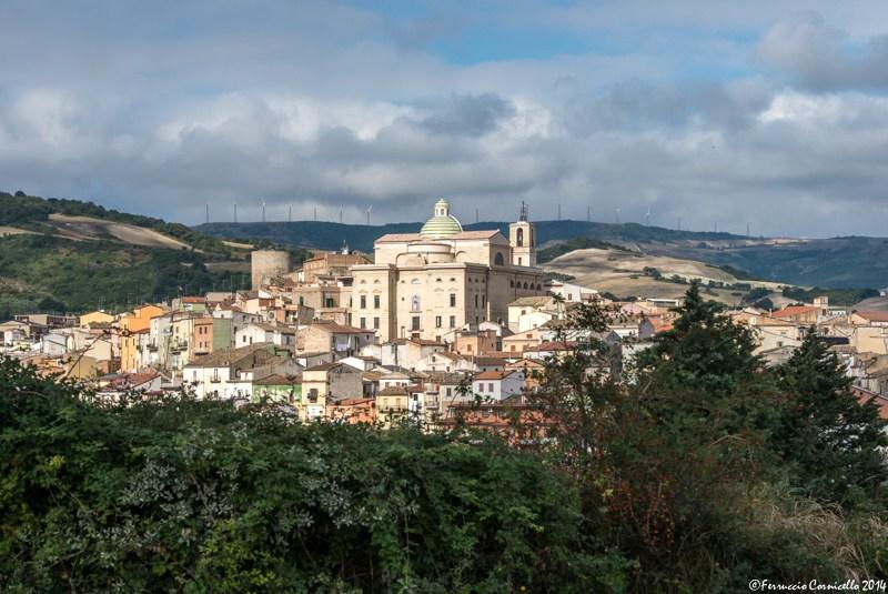 Puglia – Veduta panoramica di Biccari (Foggia) – Ph. © Ferruccio Cornicello