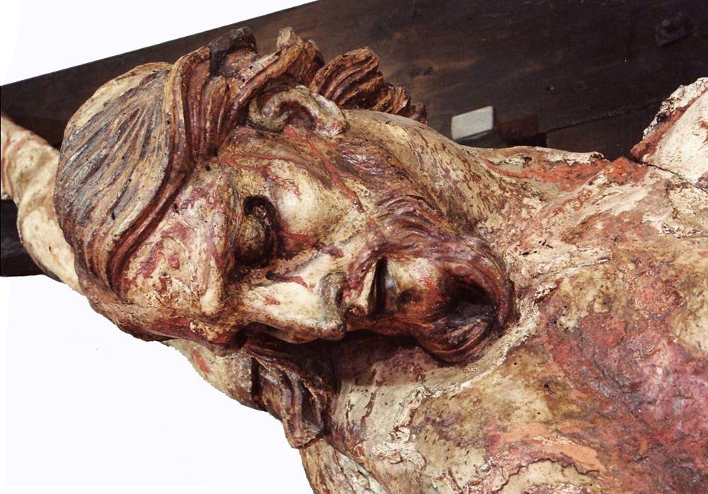 Calabria - Particolare del Crocifisso ligneo della Chiesa del SS. Crocifisso - Ph. courtesy Francesco Samà