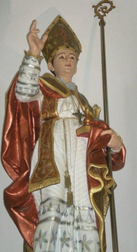 L'effigie di San Gennaro venerata a Caroniti di Joppolo (Vibo Valentia)