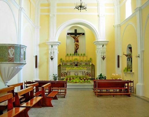 Il Crocifisso di Belvedere Marittimo (Cs), 1711, sull'altare della Chiesa del SS. Crocifisso - Ph. Comune di Belvedere