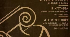 La Magna Grecia rivive in un evento teatrale nelle aree archeologiche di Policoro e Metaponto