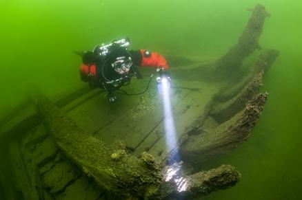 Ispezione archeologica subacquea in Sicilia - Ph. Allard Pierson Museum