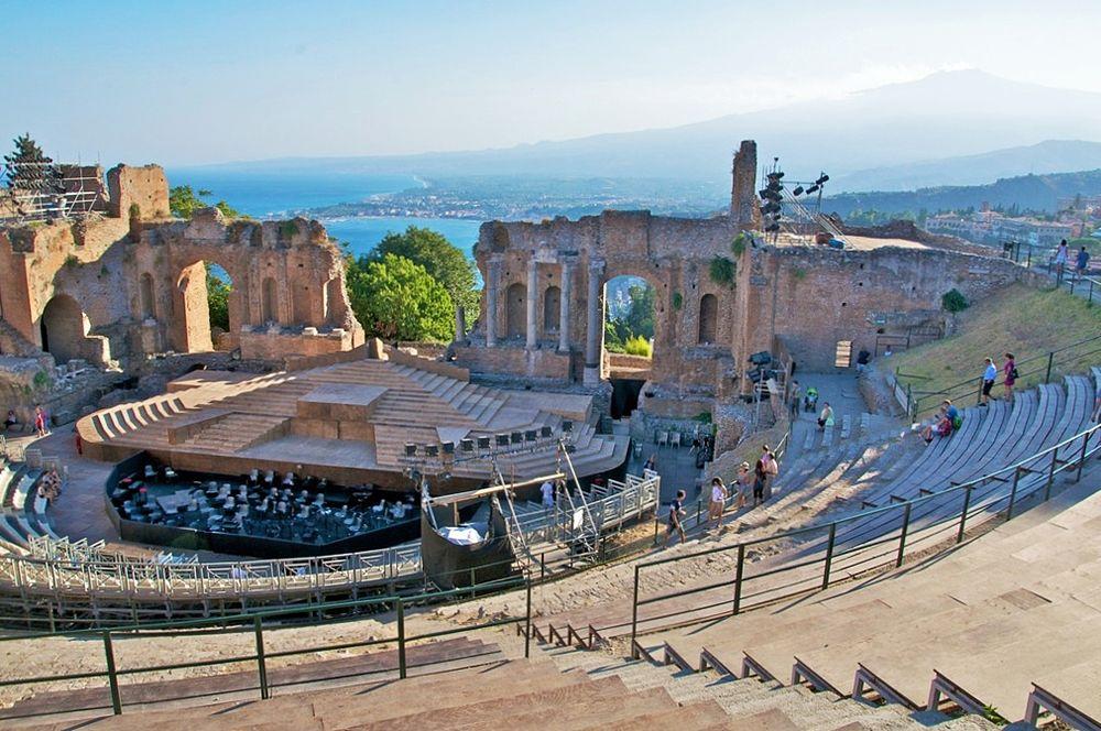 Sicilia - Teatro Greco di Taormina (Messina) - Ph. Luca Volpi | CCBY-SA2.0