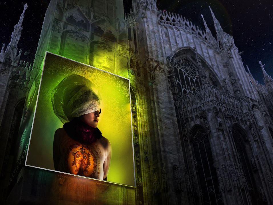Una delle opere del fotografo emiliano Matteo Bosi, tratte dal progetto Before Silence, ''trattata'' con il Color Expansion System di Salvatore Lamanna