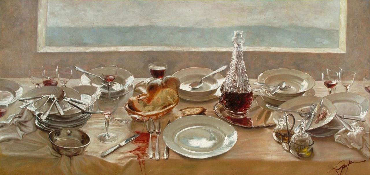 Giovanni Gasparro - Ultima cena, 2005 - Roma, Collezione Privata