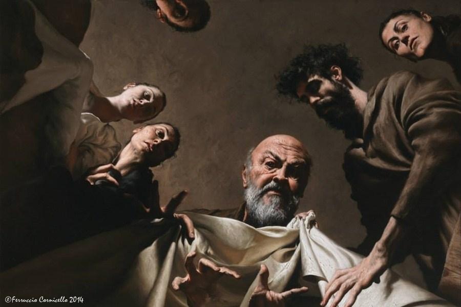 Giovanni Gasparro - Labano cerca gli idoli nel baule di Giacobbe - Ph. © Ferruccio Cornicello